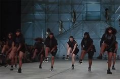 Rick Owens 2014 Spring/Summer Show Brings Step Teams to Paris
