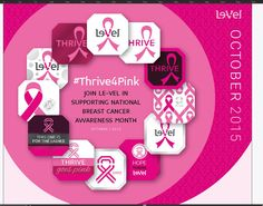Le-Vel | #Thrive4Pink is more than a hashtag, it's a symbol of hope, a symbol of emotion, and a symbol that Thrivers are people of heart and purpose. Join us as we look to be a major contributor in increasing the awareness of, AND in the fight against, breast cancer.  https://robertabooher.le-vel.com/Products/THRIVE/DFTPink