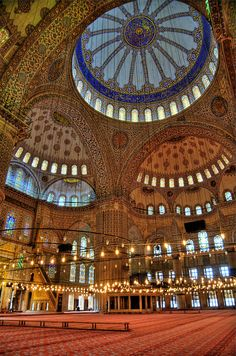 sultan ahmad mosque the blue mosque istanbul turkey