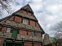 One of the eldest houses in Verden, Germany ... and typical for buildings in the North