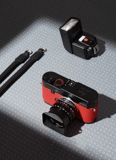 Rolf Sachs covers Leica camera in ping pong rubber | Wallpaper*