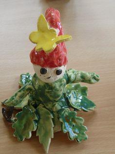 Ceramics Ideas, Kids, Figurines, Angel, Young Children, Boys, Children, Boy Babies, Child