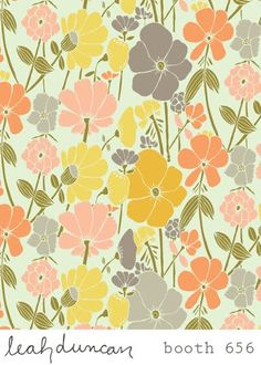 print & pattern: SURTEX 2011 - leah duncan