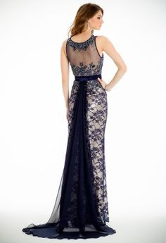 Two Tone Lace Dress from Camille La Vie and Group USA