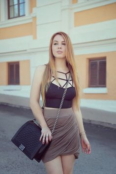 Stylish Dresses: Cropped Love