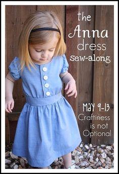 "free pattern ""the anna dress"""