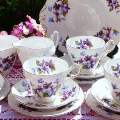 GROSVENOR My Fair Lady vintage tea set for six