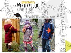 Winterwoold Allwetterjacke Gr. 80-146 - Nähanleitungen bei Makerist