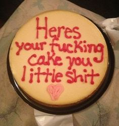 10 Funniest Literal Cake Jobs - Funny Cake Quotes - Oddee - Page 2 of 31 - QuotesPost Funny Birthday Cakes, Pretty Birthday Cakes, 18th Birthday Cake, Funny Cake, Pretty Cakes, Happy Birthday, Birthday Cake Quotes, Bithday Cake, Friend Birthday