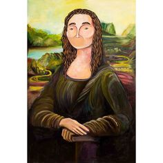 "Marmont Hill - ""Mona O"" by Amanda Oleander Painting Print on"
