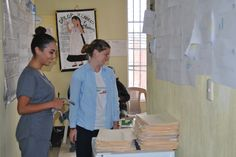 """Volunteers Jennifer Sills and Carley Padgett in Guatemala Quetzaltenango Health Care program. """"During my undergraduate studies, I had a friend in my chemistry class from the city of Quetzaltenango, Guatemala named Yohana Mazarriegos. She was an inspiring person to me and told me many positive things about her native city as we took the prerequisite course together. Although I lost touch with her, I would like to provide service to the people of her city in the scope of the medical field. I…"""