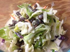 Coleslaw with Raisins | Small Town Living in Nevada