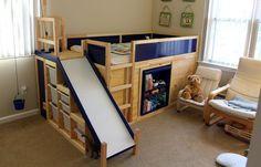 Kennen Sie das KURA Bett von IKEA? Sie können daraus etwas Wunderschönes machen! Nummer 7 ist echt fantastisch! - DIY Bastelideen