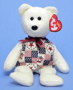 LIBERT-e - Bear - Ty Beanie Babies
