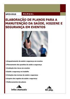 0519. Elaboração de planos para a manutenção da saúde e segurança em eventos