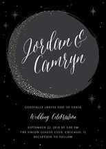 Crescent Moon Wedding Invitations by Erin Deegan | Minted