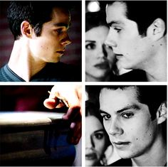Stiles + gaining courage after looking back at Lydia, Teen Wolf, 3x11 / 4x01