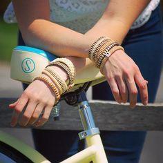 Thanks @bikenantucket for the sweet wheels! Love their beach cruisers #Nantucket #nantucketbracelets #nantucketstyle #giftsforher #handmade #scrimshaw #buylocal #beachcruiser