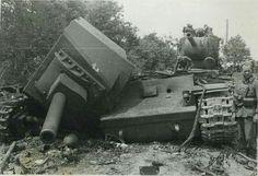 КВ-2 Взорванный экипажем