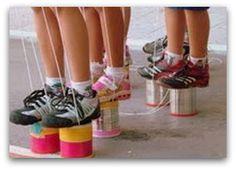 Pé de Lata; Imagem Eco Moda para Crianças