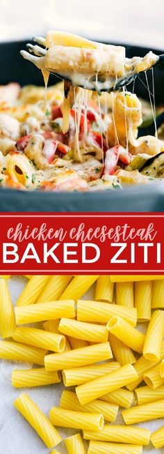 The ultimate BEST EVER baked pasta! Chicken