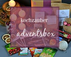 Food: kochzauber Adventsbox #advent #kochzauber #box #food #geschenke
