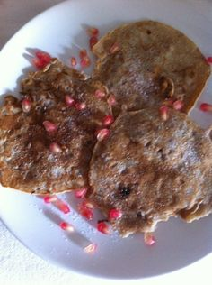 Pancakes à la grenade