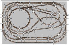 Fleischmann easy-n2bin - Binari plastico Easy-N2 120x80 scala N a 719.8 EUR