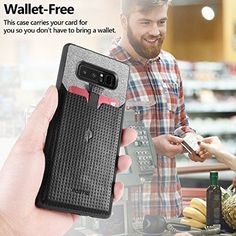 Samsung Galaxy Note 8 Pull Tab Shockproof Ultra Thin Card Slot Leather TPU Black for sale online Samsung Galaxy Note 8, Notes, Phone Cases, Cards, Leather, Ebay, Black, Report Cards, Black People