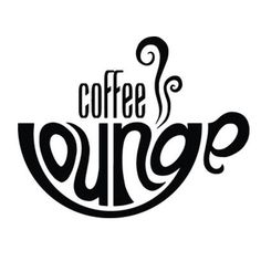 Coffee Lounge cafe typography logo design by Jonty Howley of MAGIC CABIN studios, effective use of type and shape Más Coffee Shop Logo, Coffee Shop Design, Creative Typography, Typography Design, Coffee Typography, Photoshop, Lounge Logo, Typographie Logo, Cafe Logo