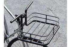 Copenhagen Parts - Bike Porter Black - Basket Velo Cargo, Touring Bicycles, Black Basket, Bicycle Tools, Retro Bike, Bike Wear, Garage Makeover, Bike Style, Bike Parts