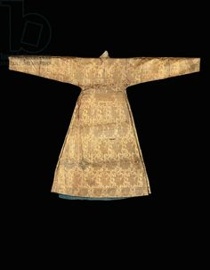 Mongol 'cloth of gold' robe, late 13th or 14th century (silk) (see also 703512-14)