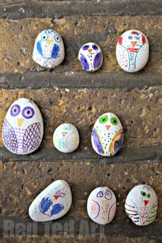 Stone Owls. What a HOOT!
