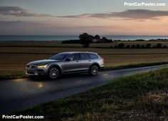 Volvo V90 Cross Country 2017 poster, #poster, #mousepad