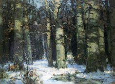 John Carlson- Winter in the Forest