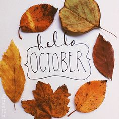 Hey there, October.