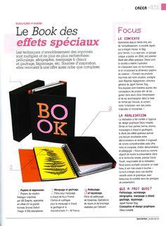 Article de France Graphique-Numéro d'Avril-Mai 2015 sur le BOOK 2015 des effets spéciaux