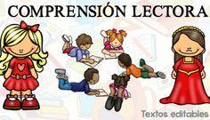 20 TEXTOS breves PARA COMPRENSION LECTORA editables WORD Preschool Education, Daily 5, Comics, Reading, Fictional Characters, Editable, Languages, Language Arts, School Stuff
