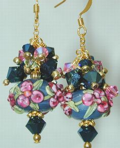 Great pendant idea for individual lampwork beads Jensen Beach Beads & Jewelry