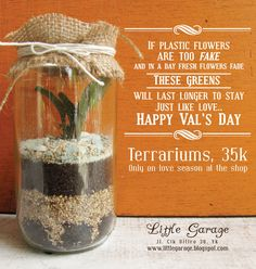 POSTER - for Little Garage (terrariums)
