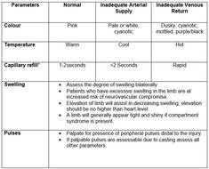neurovascular check flow sheet - Google Search Nursing Assessment, Nursing Mnemonics, Neurological Assessment, Compartment Syndrome, What Is Nursing, Nursing Students, Nursing Schools, Nursing Career, Nursing Notes