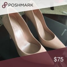 Flawless Nude Aldos Patent leather heels Nude Aldos Patent leather heels ALDO Shoes Heels