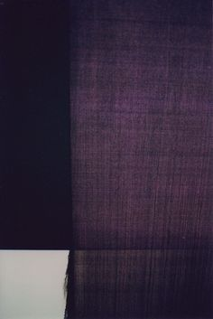 Callum Innes - Exposed Painting Dioxazine Violet, 2005.