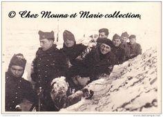 1939 - #MARANGE - 57 EME REGIMENT - MOSELLE - CACHET STALAG IV A - PHOTO MILITAIRE 8.5 X 6.5 CM