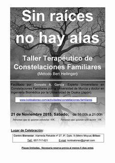 Constelaciones Familiares con Gonzalo A. García el 21 de Noviembre en Bilbao