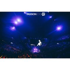I draw near to You. You draw near to me. #Passion2015