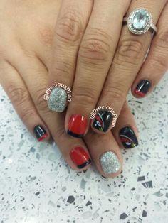 Nfl Arizona Cardinals Nails