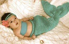 tricoter une queue de sirene                                                                                                                                                                                 Plus