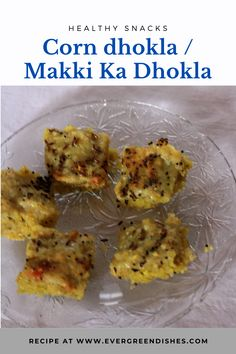 Corn dhokla is tasty and easy to make snack. It is ready in 30 minutes. Ideal to serve as a snack. #healthyfood #gujaratifood #dhokla #instantdhokla