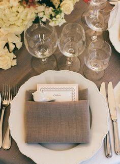 Classic & Elegant Napa Valley Wedding from Sylvie Gil
